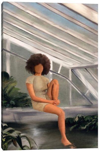 Greenhouse Chillin Canvas Art Print