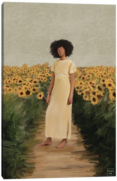 Sunflower Field Canvas Art Print