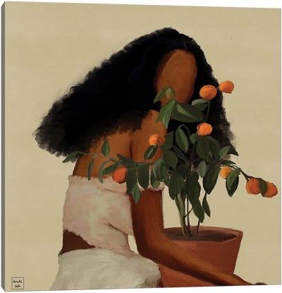 Peaches Canvas Art Print