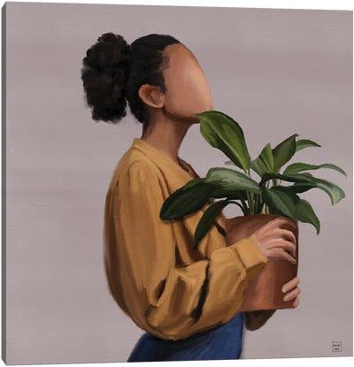Plant Lover Canvas Art Print