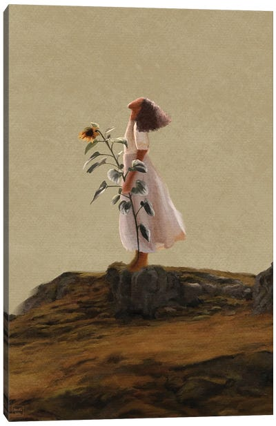 Hopeful Canvas Art Print