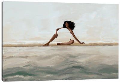 Transparent Canvas Art Print