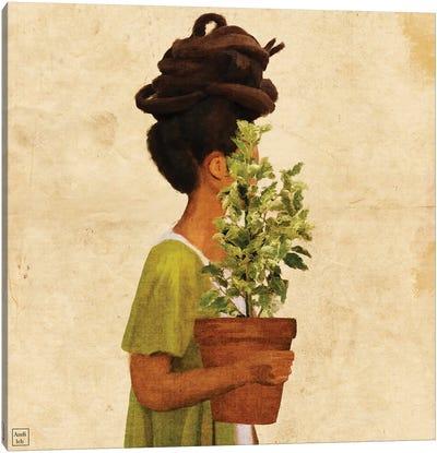 Earth Child Canvas Art Print