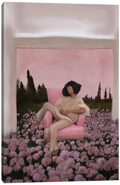 Pink Blossom Canvas Art Print