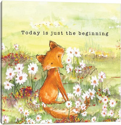 Fox Tales I Canvas Art Print