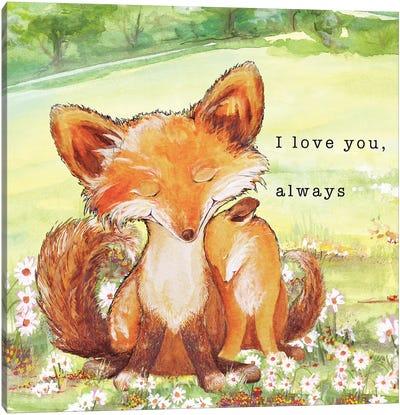 Fox Tales II Canvas Art Print