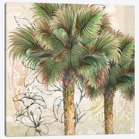 Palms Away I Canvas Print #DIN15} by Diannart Canvas Art Print