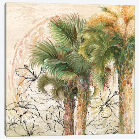 Palms Away II Canvas Print #DIN16} by Diannart Canvas Print