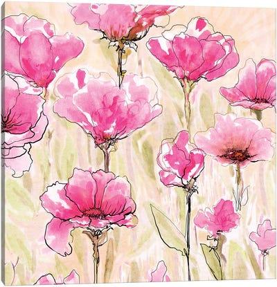 Pink Love I Canvas Art Print