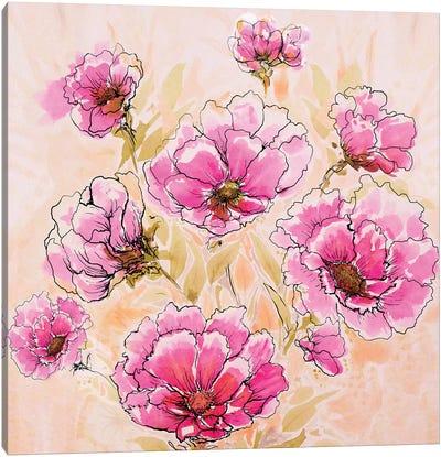 Pink Love II Canvas Art Print