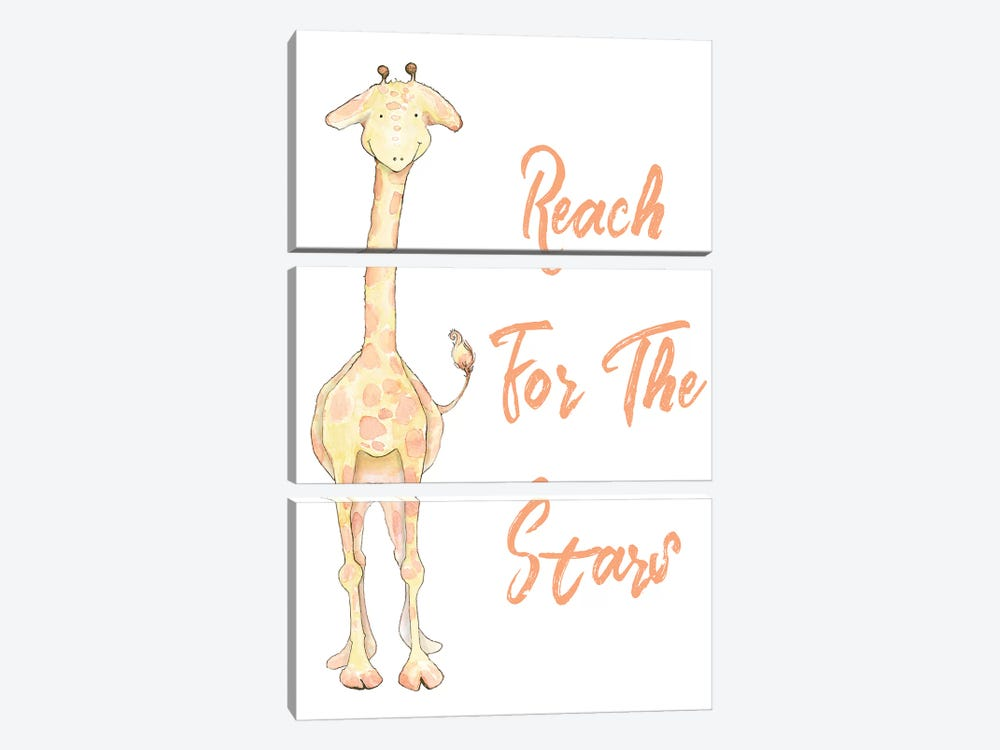 Reach for the Stars by Diannart 3-piece Canvas Print