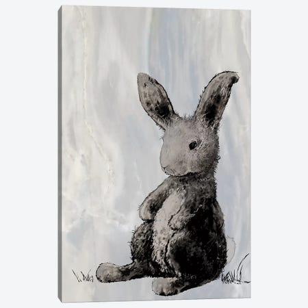 Bunny on Marble I Canvas Print #DIN1} by Diannart Canvas Art Print