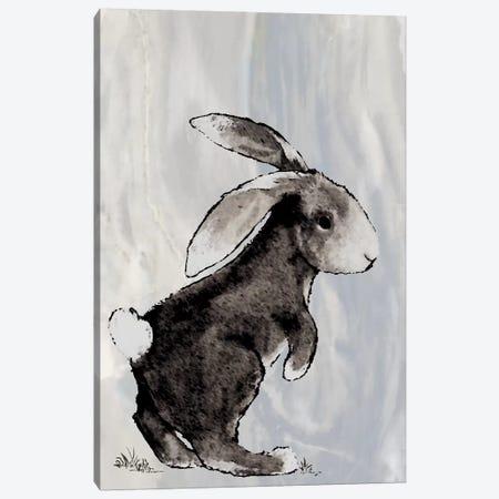 Bunny on Marble II Canvas Print #DIN2} by Diannart Canvas Print