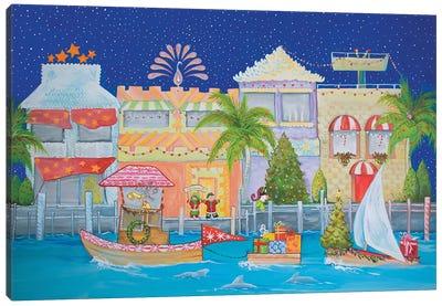 Christmas Village I Canvas Art Print