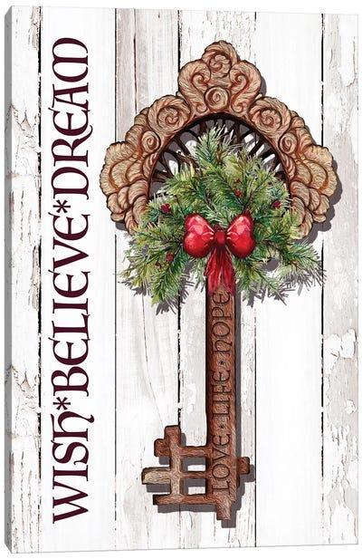 Holiday Key II Canvas Art Print
