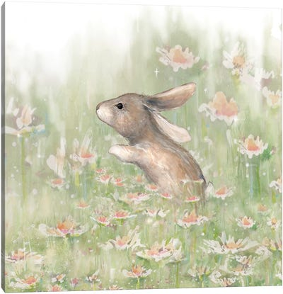 Meadow Visitor II Canvas Art Print