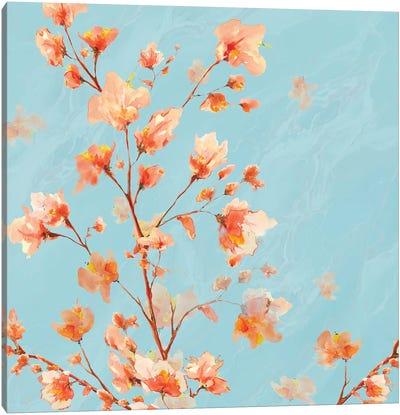 Early Americana floral II Canvas Art Print