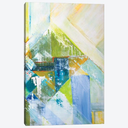 Summerview Abstract II Canvas Print #DIN51} by Diannart Canvas Art