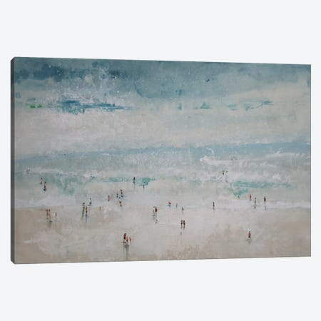The Beach Canvas Print #DIO14} by Claudio Missagia Canvas Art