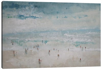 The Beach Canvas Print #DIO14