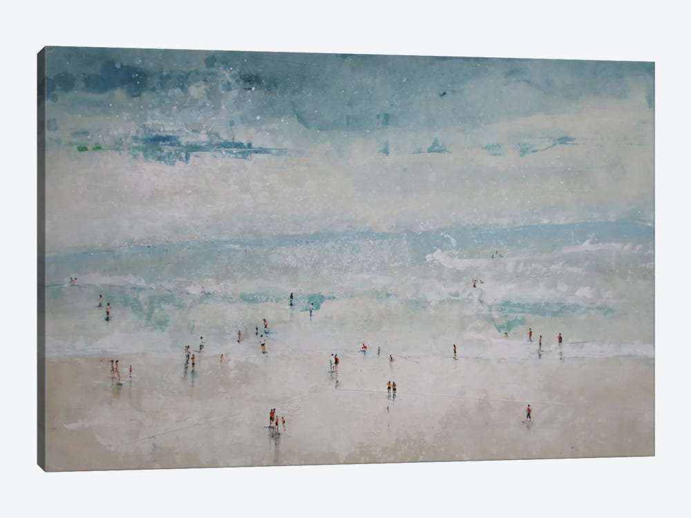 The Beach by Claudio Missagia 1-piece Canvas Art Print