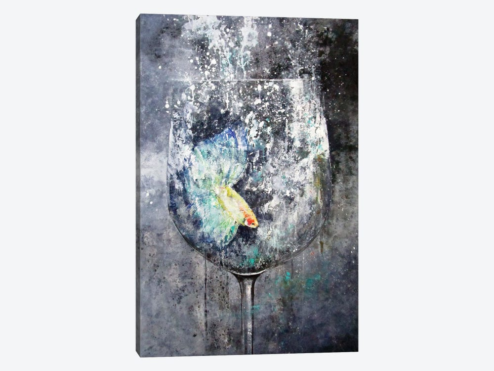 Betta by Claudio Missagia 1-piece Canvas Wall Art