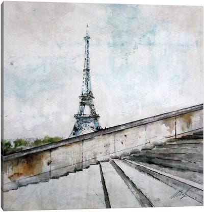 Eiffel Tower Canvas Art Print