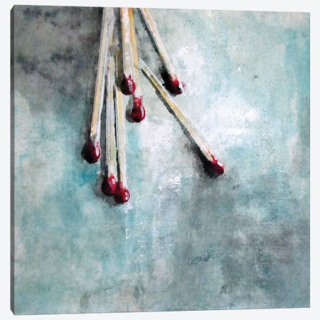 Matchstick Canvas Print #DIO31} by Claudio Missagia Canvas Print