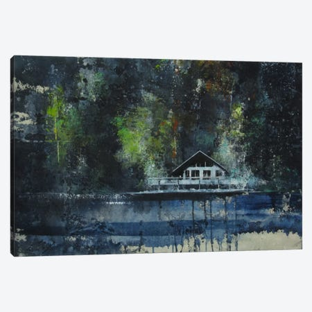 La Casa Sul Lago Canvas Print #DIO3} by Claudio Missagia Canvas Wall Art