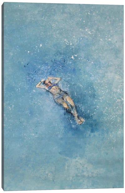 Le Plongeuse Canvas Art Print