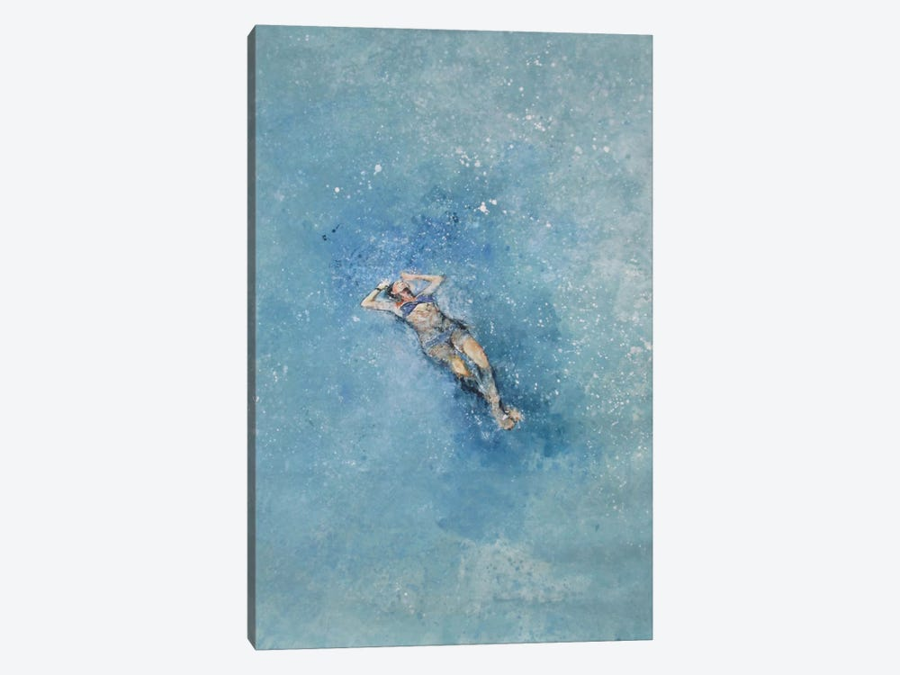 Le Plongeuse by Claudio Missagia 1-piece Canvas Wall Art