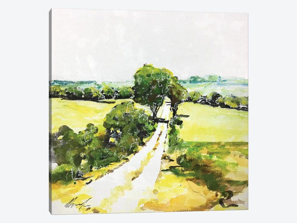 Da Qualche Parte I by Claudio Missagia 1-piece Canvas Art Print
