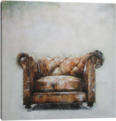 Sofa I Canvas Art Print