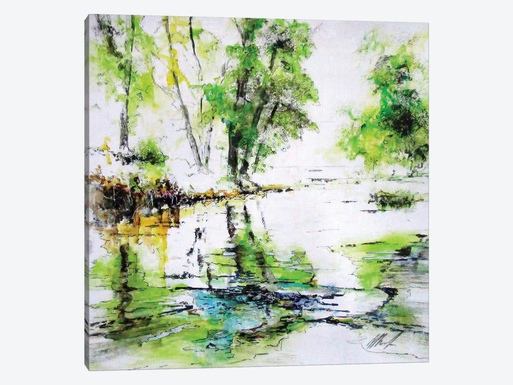 Da Qualche Parte VIII by Claudio Missagia 1-piece Canvas Print