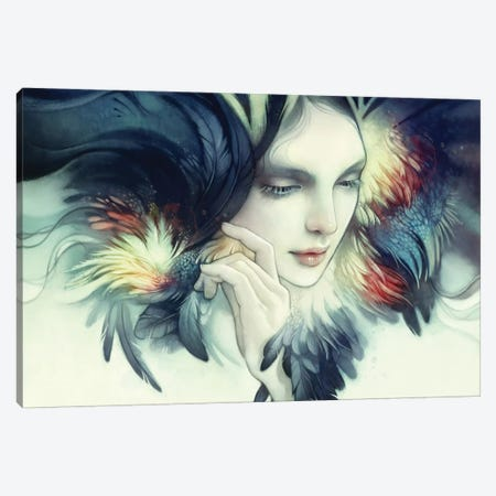 Tavuk 3-Piece Canvas #DIT10} by Anna Dittmann Canvas Art