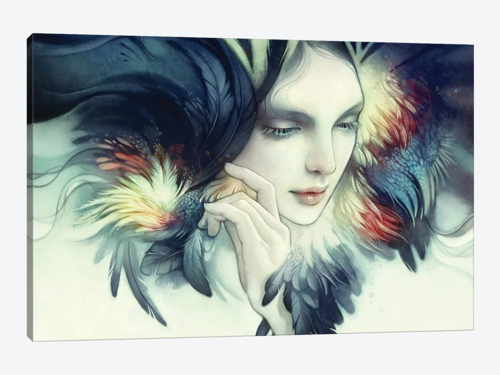 Tavuk by Anna Dittmann 1-piece Canvas Print