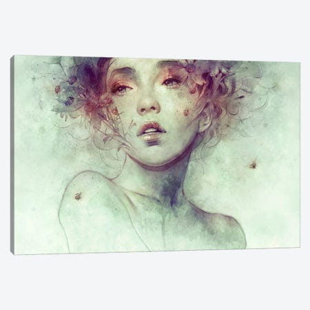 Swarm Canvas Print #DIT3} by Anna Dittmann Canvas Artwork