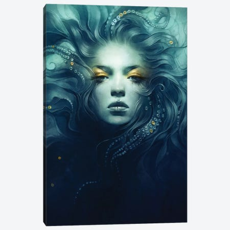 Ink Canvas Print #DIT8} by Anna Dittmann Canvas Wall Art