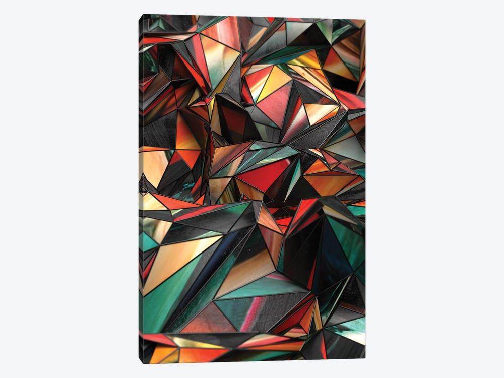 Dirty Triangles by Danny Ivan 1-piece Canvas Art