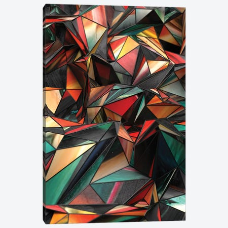 Dirty Triangles Canvas Print #DIV12} by Danny Ivan Canvas Artwork