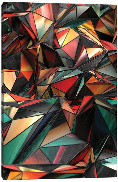 Dirty Triangles Canvas Art Print