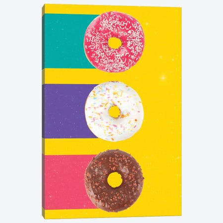 Donuts Canvas Print #DIV13} by Danny Ivan Canvas Art