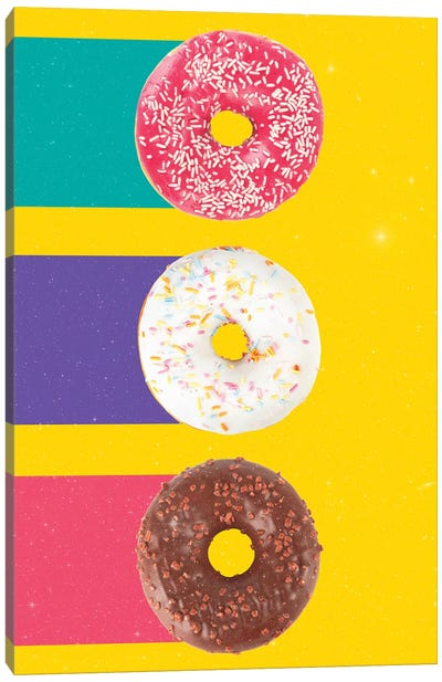 Donuts Canvas Art Print