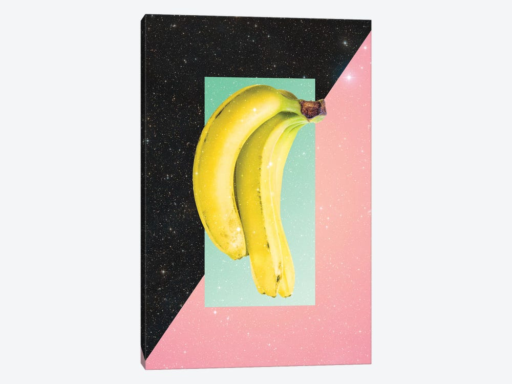 Eat Banana by Danny Ivan 1-piece Canvas Wall Art