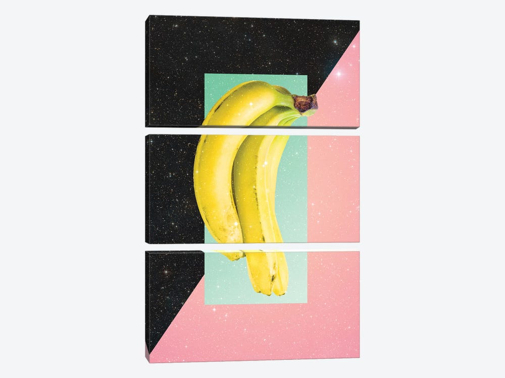 Eat Banana by Danny Ivan 3-piece Canvas Artwork