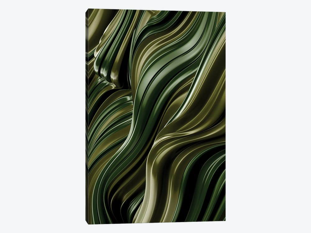 Green Wave, Vertical by Danny Ivan 1-piece Art Print