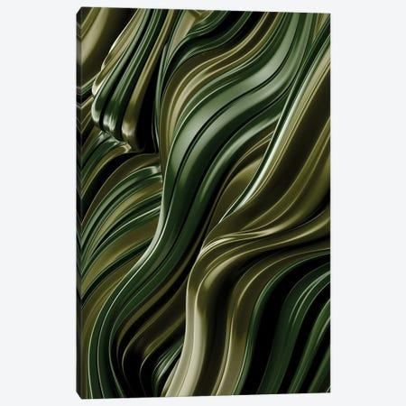 Green Wave, Vertical Canvas Print #DIV20} by Danny Ivan Canvas Art Print