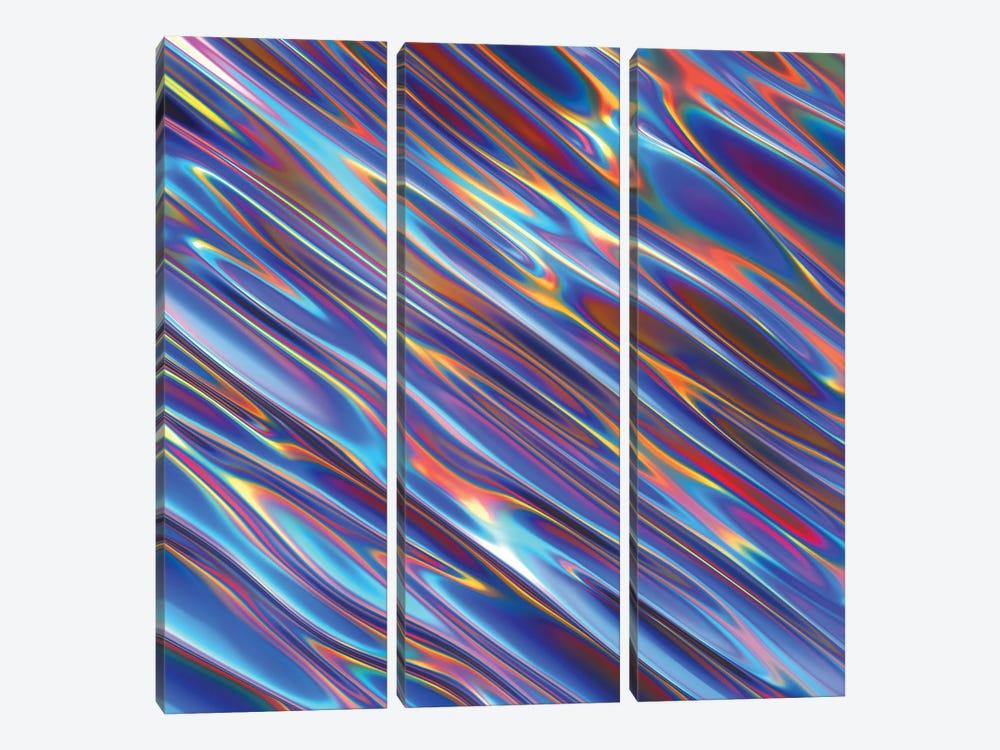 Iris by Danny Ivan 3-piece Canvas Art Print