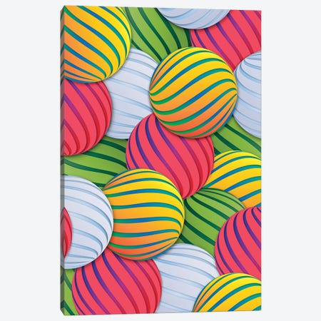 Melons Canvas Print #DIV24} by Danny Ivan Canvas Wall Art