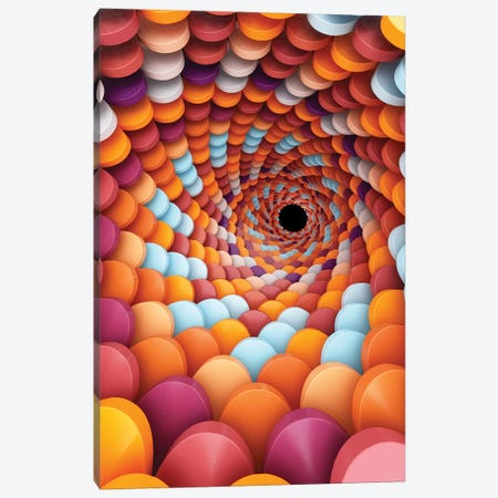 Spiral Focus Canvas Print #DIV35} by Danny Ivan Canvas Print